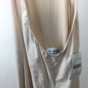 1365c6fa2752 Fashion Nova Pants - Fashion Nova Shattered Glass Jumpsuit Nude